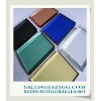 China High quality 4-12mm Tinted Float Glass Manufacturers on sale