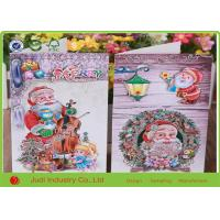 China Handmade Greeting Cards For Birthday , UV Printing Personalised Christmas Cards on sale