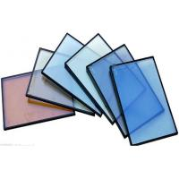Cheap Colorful Heat Reflective Glass , Flat Coated Solar Control Glass for sale