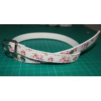 Cheap Printing PU apparel dressy belts for women Rural style , nickle and lead free for sale