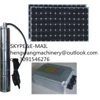 Buy cheap High Quality 12v 24v dc Solar Submersible Water Pump For Irrigation from wholesalers
