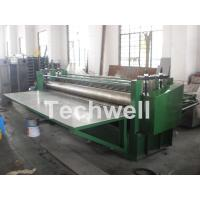 Cheap G550Mpa 0.18mm Cold Roll Forming Machine , Glazed Tile Roll Forming Machine for sale