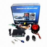 Cheap Wireless Car Alarm System with Automatic Door Locking/Unlocking, Suitable for Various Cars for sale