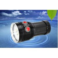 Buy cheap MarsFire D-F5 6*T90 6500LM led dive flashlight , under water 100m 3 color fill light led torch from wholesalers