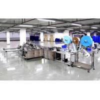 Cheap Automatic Surgical Face Mask Making Machine , Non Woven Mask Making Machine for sale