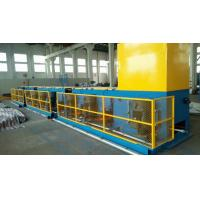 Cheap Automated ISO9001 Copper Wire Drawing Machine , Horizontal Welding Rod / Wire Nail Making Machine wholesale