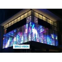 Cheap Decorative, Vivid Effect, Decorative Transparent LED Display Screen for Windows Glass Ads for sale