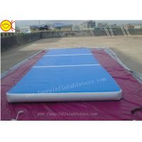 Cheap 2X4 Tumble Track Drop Stitch Inflatable Matress For Gymnastics for sale