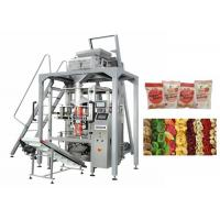 Cheap Dried Fruit Linear Weigher Packing Machine 5 - 70 Bags / Min Packing Speed for sale