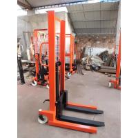 Cheap Warehouse equipment forklift trucks manual stackers lift fork for sale