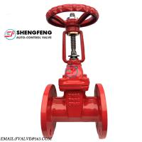 Cheap BS5163 PN16 resilient seat ductile iron rising stem gate valve for sale