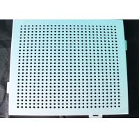China Ceiling Aluminum Perforated Metal , Stamping Punched Aluminum Sheet Panelling Decoration on sale