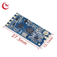 China 1000m 433Mhz HC-12 SI4463 Wireless Serial Port Module electronic circuit board assembly on sale