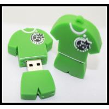 Buy cheap offer OEM PVC/silicone custom logo usb pen drive football T-shirt usb flash from wholesalers