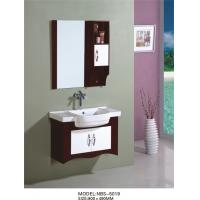 Cheap 80 X49/cm PVC bathroom vanity / wall cabinet / hanging cabinet / walnut color for bathroom for sale
