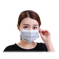 Cheap Grey Color Activated Carbon Dust Mask Dust Protection Size 17.5*9.5CM for sale