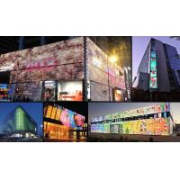 Cheap 1R1G1B Pixel LED Curtain Display 80% Transparency Outdoor Fixed Installation for sale