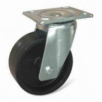 Cheap Rubber Molded Heavy Duty Caster with 100 to 220kg Loading Capacity for sale