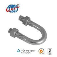 Buy cheap Attach Piping U Bolt with ZINC plate Surface from wholesalers