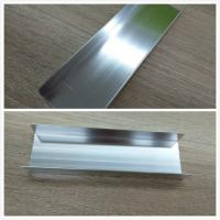 Cheap Silver Brightness Machanically Polished Aluminum Profiles Highly Wear Resistance for sale