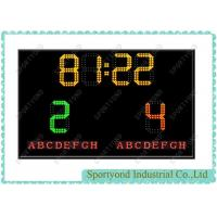 Cheap Soccer Electronic Digital LED Scoreboard With Timer,Wireless for sale