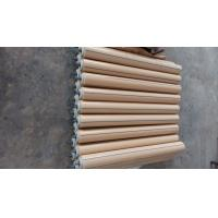 Cheap Nylon Material Conveyor Return Rollers , Replacement Conveyor Rollers Natural Color for sale