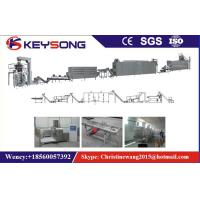 China Nutritional Artificial Rice Making Machine Stainless Steel Twin Screw Extruder 150Kg / H Capacity on sale