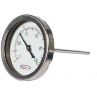 China Indoor Mini round shape Bimetal Temperature measurement Sensor thermometer hygrometer on sale