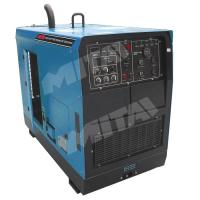 Cheap 500A Single phase Industrial Steel Pipe Engine Driven Welding Machine for Structural Steelwork for sale