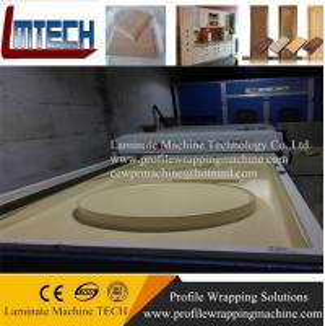 China Indoor-Decoration pvc kitchen cabinet vacuum membrane press machine on sale