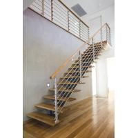 Cheap Interior Stainless Steel Wire Rod Railing for building Handrail design for sale