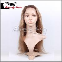Buy cheap Full lace wig,100% remy hair, Full lace/Front lace/Machined wig can be from wholesalers