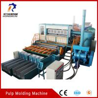 Cheap Recycling Waste Paper Egg Tray  Machine , Pulp Egg Tray Making Machine for sale