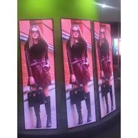 Cheap Vivid Video Mirror Display HD Led Poster Portable 1000 Nits Front Access for sale