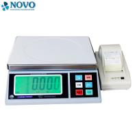 Cheap white electronic digital weighing scale / high precision weighing scales for sale