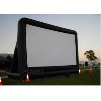 Cheap Open Air Inflatable Movie Screen Double Stitching AC 110V / 220V Supply Voltage for sale