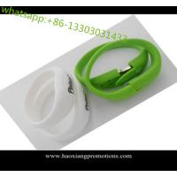 Buy cheap All knids of Promotional Non-standard Customized silicone wristband with USB from wholesalers