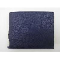 Cheap Simple And Fashion Mens Front Pocket Wallet 11.7 * 9.2 Cm Contrast Texture for sale