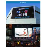 Cheap Anti - Wind Grid Billboard Advertising Led Display Screen 6000 Nits 1R1G1B for sale