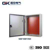 China Weatherproof Low Voltage Power Distribution Box Durable Wall Mounted Steel Sheet on sale