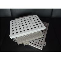 China OEM Laser Cutting Perforated Aluminum Sheet Metal Panels Acid - Resistant on sale