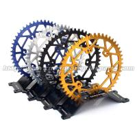 Cheap Aluminium Alloy Dirt Bike Sprockets , Motorcycle Chain Sprockets For Motorcycle Spare Parts for sale