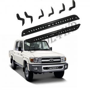Cheap OEM 4x4 Body Kits Heavy Duty Steel Toyota Land Cruiser FJ79 LC79 Vehicle Side Steps for sale