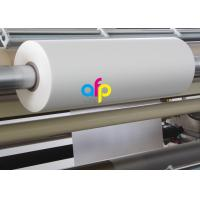 China Print Finishing Lamination Bopp Film Roll Glossy / Matt Type EVA Heat Sensitive Layer on sale