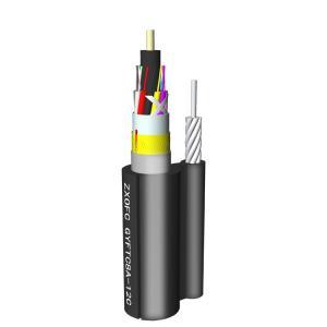 Cheap Non Metallic GYFTC8Y 1KM 144 Core Fiber Optic Cable for sale