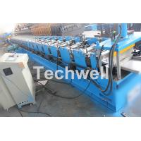 Cheap 5 Ton Capacity Garage Door Roll Forming Machine With Wood Grain Embossing Machine for sale