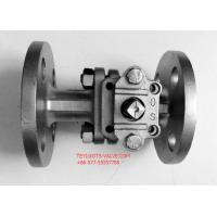 """Cheap PN16 Hand Operated Two Way Ball Valve 2"""" Locking Flange Type For Water for sale"""