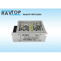 Cheap LED Light Metal Cased Switching Mode Power Supply 24V 1A  CE RoHS FCC Approved for sale