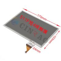 Cheap TFT LCD Touch Screen For Toyota Lexus 4 Pin LTA070B511F for sale