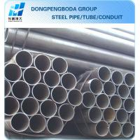 Cheap ERW black round steel tube China supplier made in China for sale